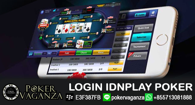login-idnplay-poker