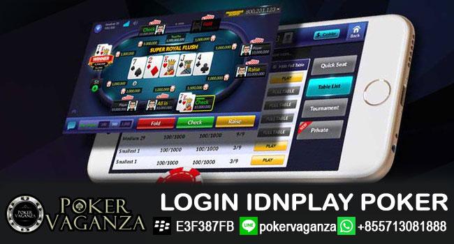 login-idnplay-poker